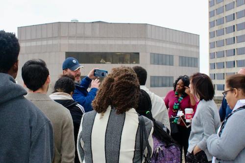 JAG Students Explore AT&T