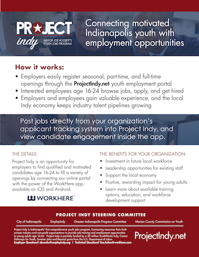 Project Indy Youth Sign-Up