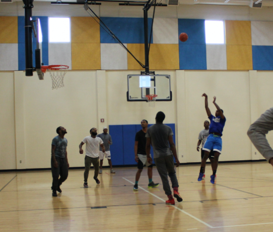 open gym basketball